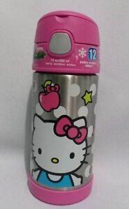 Fadville-New-Thermos-Hello-Kitty-12-oz-FUNtainer-Beverage-Bottle-USA