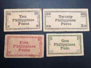 Lot-Collection-of-banknotes-series-d-black-values-1-5-10-and-20-pesos-year-1944