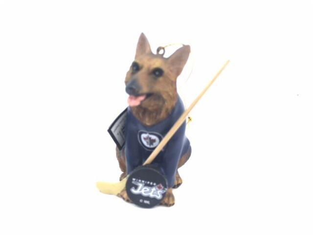 competitive price a934e edf13 Winnipeg Jets German Shepherd NHL Ornament Team Sport 3.75