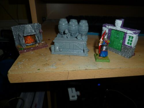 Ex Display//Broken packs 25//28mm Scenery Fantasy//Sci Fi resin castings