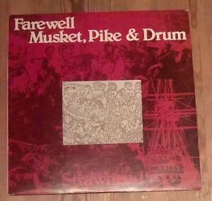 Strawhead-Farewell-Musket-Pike-amp-Drum-Vinyl-LP-Album-33rpm-1977-TSR-026