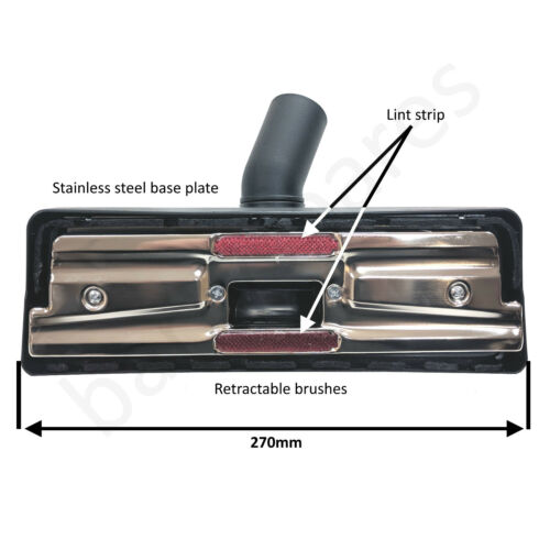 Per DIRT DEVIL Aspirapolvere Hoover BACCHETTE Tool Kit spazzola ugello tubo di 32 mm