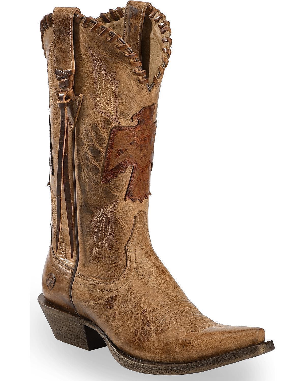 Ariat Women's Thunderbird Overlay Cowgirl Boot - Snip Toe - 10023224