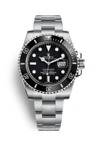 Details about Rolex ♛ Submariner Date 116610LN Stainless Steel, Black Face  Men\u0027s Luxury Watch