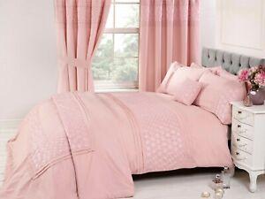 Rapport-034-Everdean-034-Embroidered-Floral-Duvet-Cover-Bedding-Set-Pink
