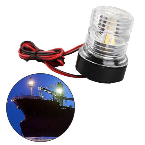 LED Navigationslicht Positionslicht Positionsleuchte Boot Yacht 360° 12V Weiß DE