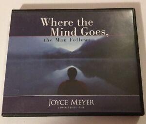 Details about Joyce Meyer Where the Mind Goes Man Follows 5 Cd Set  Christian Sermons