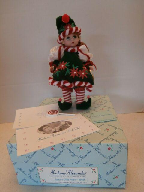 Hallmark Madame Alexander Collection Merry Miniatures 1998 Santa/'s Little Helper