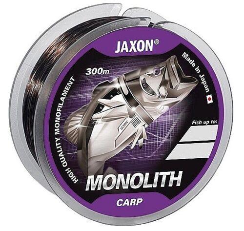NEU Angelschnur JAXON MONOLITH Carp 300m/600m Spule Monofile Karpfen Schnur