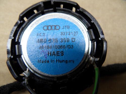 Original AUDI A6 4B C5 Lautsprecher Hochtöner Türlautsprecher hinten 4B0035399D