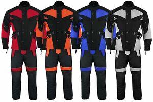 GermanWear-2-teiler-Motorradkombi-Cordura-Textilien-Motorradjacke-Motorradhose