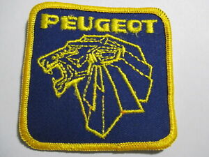 Peugeot Patch Vintage Original NOS Auto Car Wheels Sports Car Luxury Car