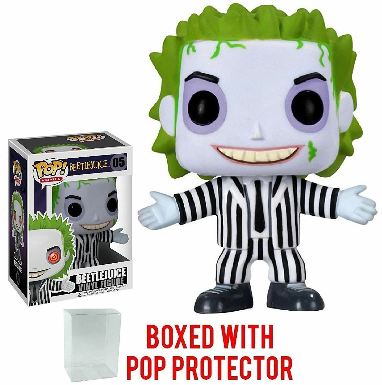 Funko Pop Movies Beetlejuice 05 2266 con Projoector caso