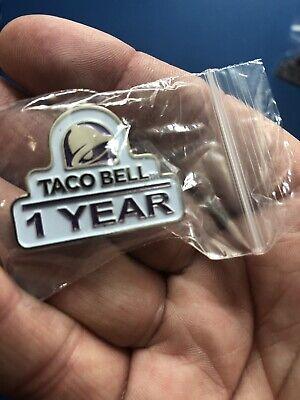 Taco Bell Tie Lapel Pin Mild Hot Fire Sauce Vintage Rare Live Mas Shirt Hat New