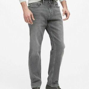 BANANA REPUBLIC  straight leg Gray Denim Jeans Men's 34 x 32