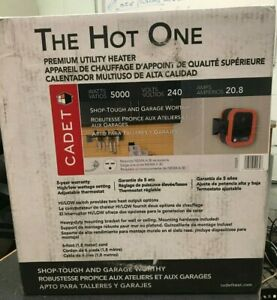 NEW Cadet RCP502S 240V Portable Garage/Shop Heater, 5000W ...