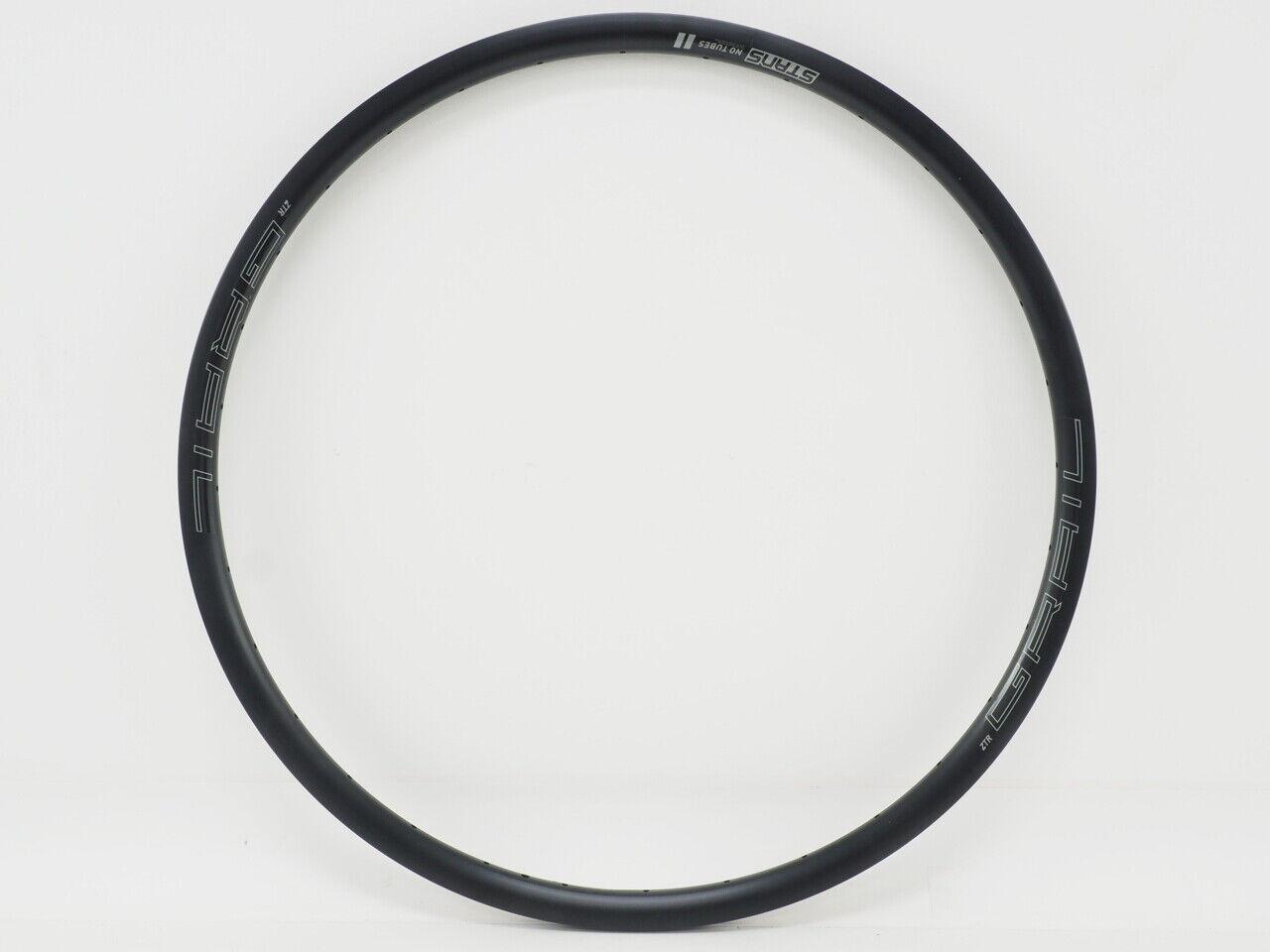 New Stan/'s No Tubes Grail 700c Rim Black 32H 700c Disc Brake RTGR90024