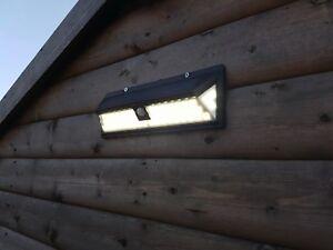 Luci Da Esterno Giardino Solari : Led sicurezza giardino luce solare luci da muro impermeabile