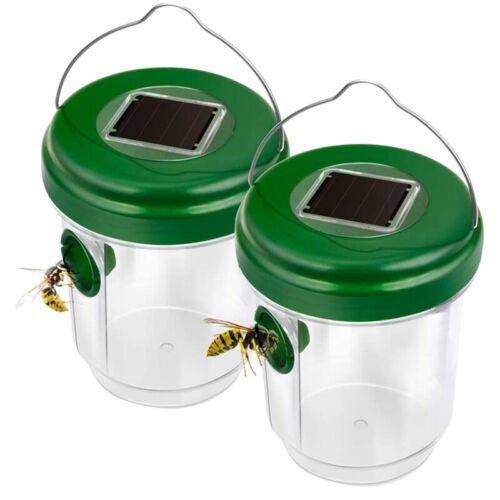 AS InsektenfäNger Wespenfalle für Fliege N1O7 Solar Betriebene Bienenfallen PP