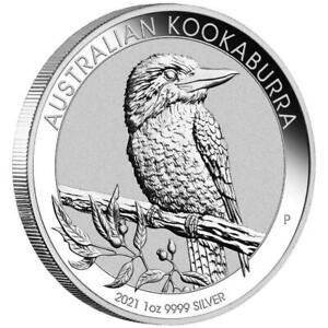 Australien-1-Dollar-2021-Kookaburra-Anlagemuenze-1-Oz-Silber-ST