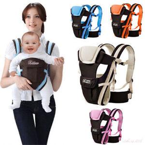 Breathable-Ergonomic-Infant-Baby-Adjustable-Wrap-Sling-Newborn-Backpack-Carrier