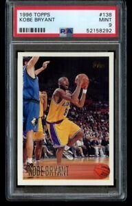 1996-97-TOPPS-KOBE-BRYANT-ROOKIE-RC-138-RC-LOS-ANGELES-LAKERS-PSA-9-MINT