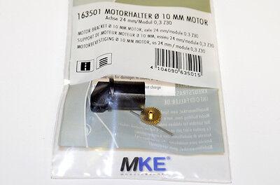 Faller Car System 163501  Motorhalter / Einbausatz mit Achse & Ritzel NEU in OVP