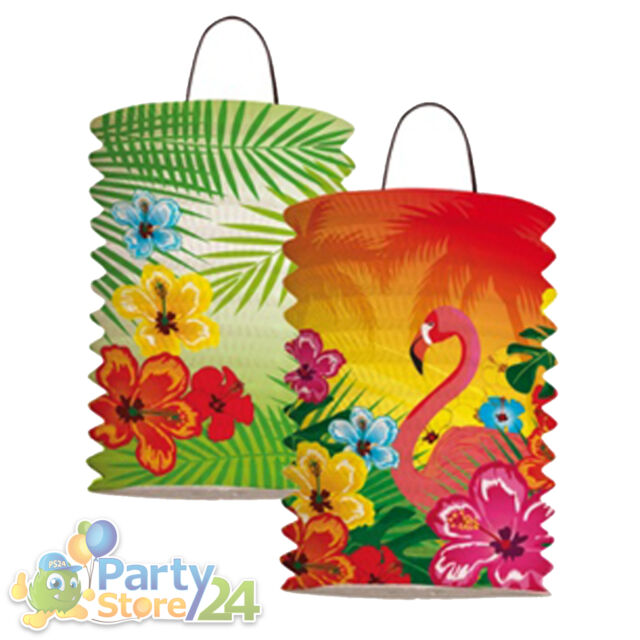 Hawaii Party Laterne Gartenparty Beach Motto Feier Beachparty Event Dekoration