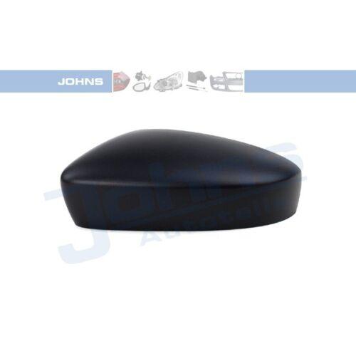 Johns 95063790 espejo capuchón espejo carcasa exterior cubierta negra a la izquierda