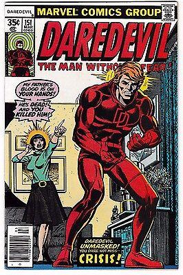 Daredevil 164 Nm Near Mint Marvel