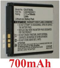 Battery 700mAh type CAB30M0000C1 OT-BY20 For Alcatel One Touch 217D