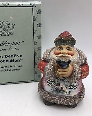 G Debrekht Derevo Collection Winter Forest Santa 2004 Ltd Ed 51803 3 Russian Ebay