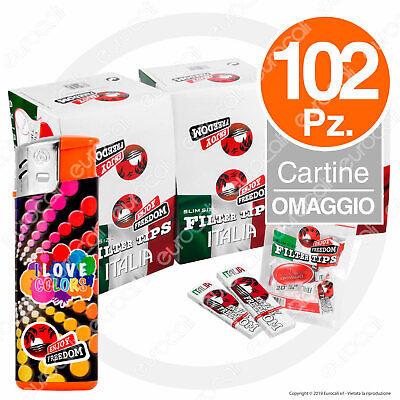 600 Filtri ENJOY FREEDOM ITALIA Slim 6mm 5 BUSTINE da 120