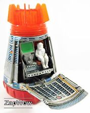 APOLLO SUPER SPACE CAPSULE 1969 Tin Toy NASA Ship Horikawa Vintage Japan
