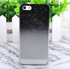 Iphone 5 5S 5G Phone Case Hard Cover Creative 3D Gradient Raindrop Mobile case