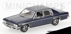 Minichamps 430046002 430046002 430046002 -  OPEL KAPITÄN – 1969 – blueE L.E. 1008 PS  1 43 681e10