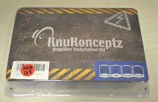 KnuKonceptz Kolossus 8 Gauge OFC Amplifier Installation Kit