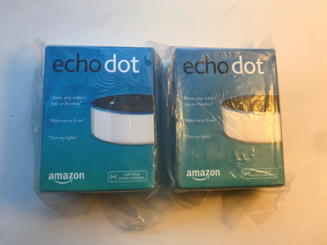 Gadget, Amazon Echo Dot, Perfekt, 1 stk helt ubrugte Echo…