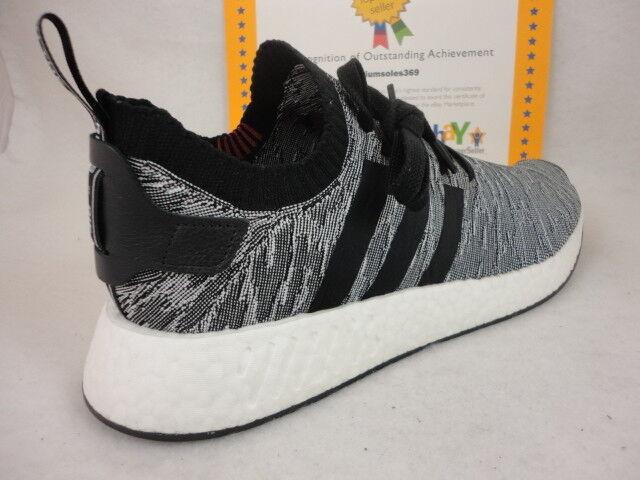 Adidas NMD R2 PK, Black / White, Comfortable