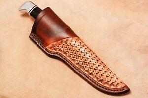 Custom-Leather-Sheath-for-Buck-119-Knife