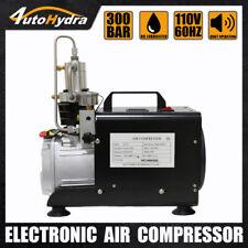 Protable Air Compressor 4500psi 30mpa Pcp Air Pump Manual Stop Airgun Tank