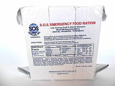 3 DAY  3600 KCal  EMERGENCY SURVIVAL FOOD RATIONS Ship any Quantity $12.99 total