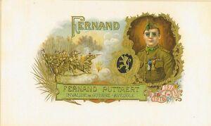Fernand Puttaert Guerre Mondiale I Blind Veteran Cigare Label 88s3Uzoi-09155720-639869885