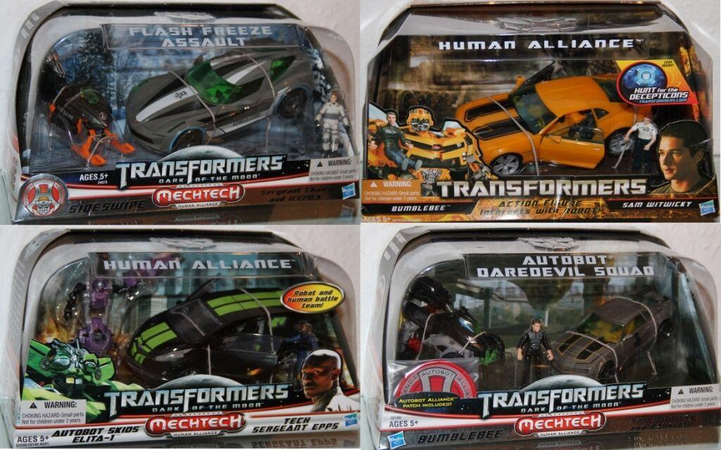 Transformers -human Alliance Action Figures-Deluxe Class-Hasbro Choose