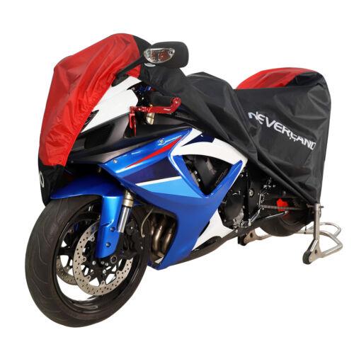XL Motorrad Abdeckung Motorradgarage Motorradplane Abdeckplane Cover Wasserdicht