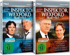 Gesamtedition - Inspektor Wexford ermittelt / 10 Langfolgen auf 6 DVDs Pidax