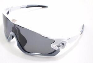 5eef59ed4f Oakley Sunglasses Jawbreaker Grey Polarized Polished White for sale ...