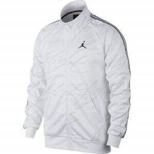 Nike-Air-Jordan-Jumpman-Tricot-Flight-Jacket-White-AR4460-100-Men-039-s-Size-3XL-3X