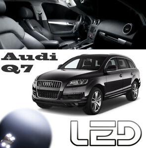 AUDI-Q7-Pack-10-Ampoules-LED-eclairage-interieur-Plafonnier-lampe-lecture-Sols