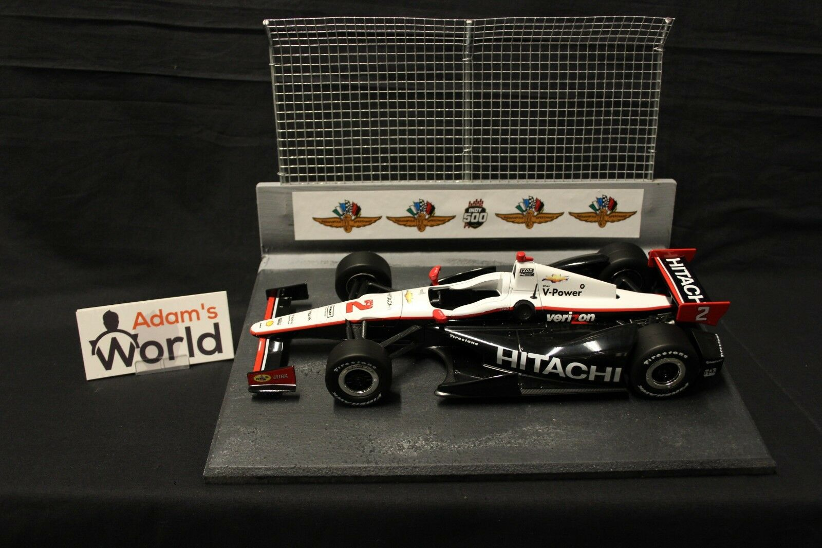 GreenLight Dallara Chevrolet 2012 1 1 1 18  2 Ryan Briscoe (AUS) 6a8
